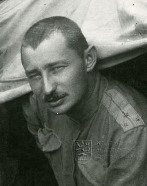 Mladý Zdeněk Fierlinger v legiích. Foto sbírka VHÚ.