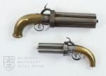 Dvě sibiřské pistole s perkusním zámkem