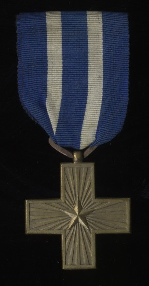 Italský válečný záslužný kříž 1914-1918 (VHÚ Praha).