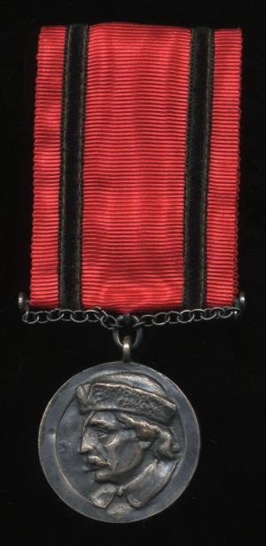 Medaile Jana Žižky z Trocnova 2. stupně, I. varianta - neudělená (VHÚ Praha).