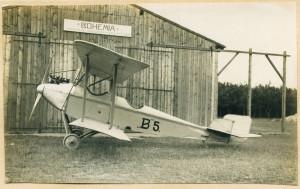 Historické foto letounu
