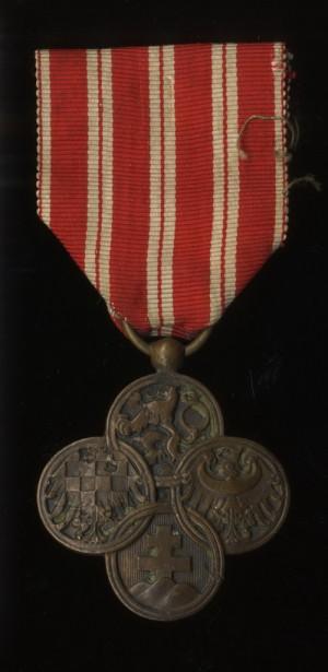Československý válečný kříž 1914-1918 (VHÚ Praha).