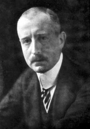 Wilhelm hrabě von Mirbach-Harff, od prosince 1917 německý vyslanec v Petrohradu, hlavní exponent německého vlivu na Leninovu vládu. Foto sbírka VHÚ.