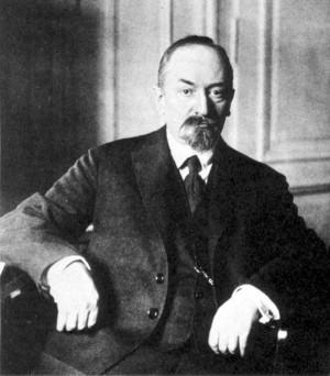 Lidový komisař zahraničí Georgij Vasiljevič Čičerin. Foto sbírka VHÚ.