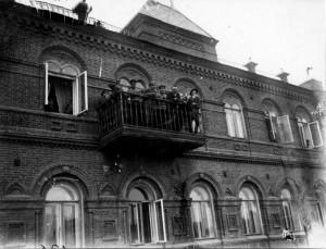 Hotel Dadinnyj, vězení sovětu v Čeljabinsku. Foto sbírka VHÚ.