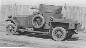 Britský obrněný automobil Rolls Royce. Foto sbírka VHÚ.