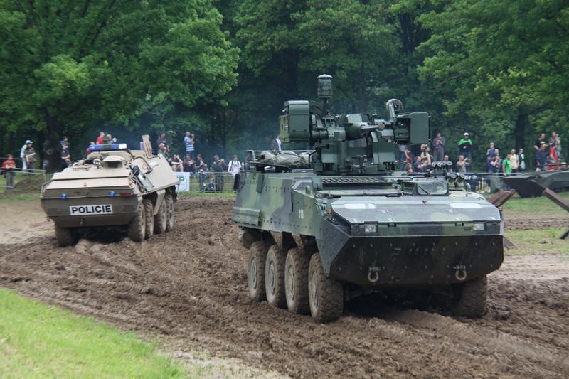 V Lešanech se slavilo 15 let České republiky v NATO