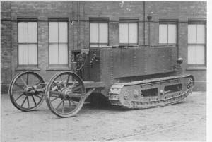 Little Willie, první tank světa. Foto sbírka VHÚ.