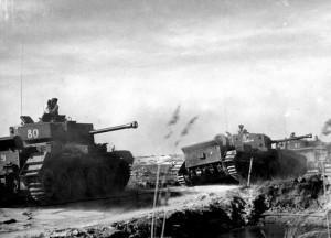 Obléhání Dunkerque. Foto sbírka VHÚ.