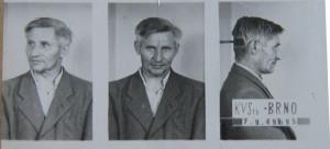 Petr Křivka na vazebním snímku. Foto sbírka VHÚ.