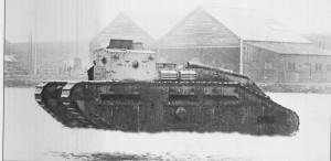 Střední tank Mk.C Hornet. Foto sbírka VHÚ.