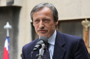 Ministr obrany Martin Stropnický při svém projevu