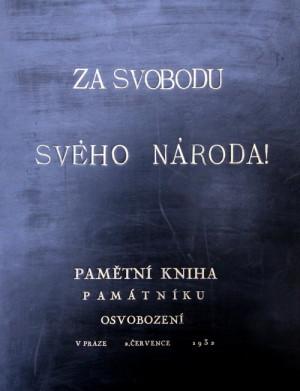 Pamětní kniha Památníku osvobození