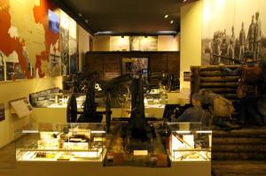 Hlavní sál expozice