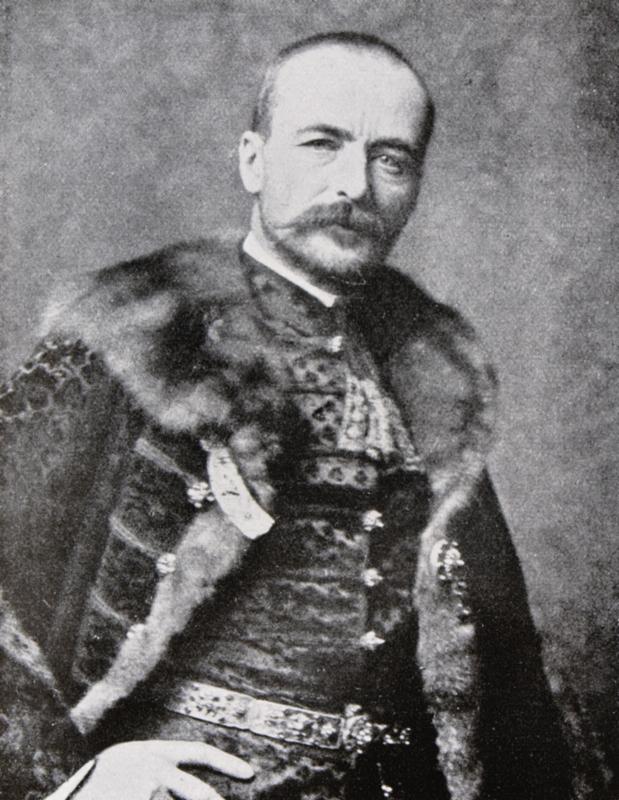 István hrabě Tisza (1861–1918), předseda zalitavské vlády. Foto sbírka VHÚ.