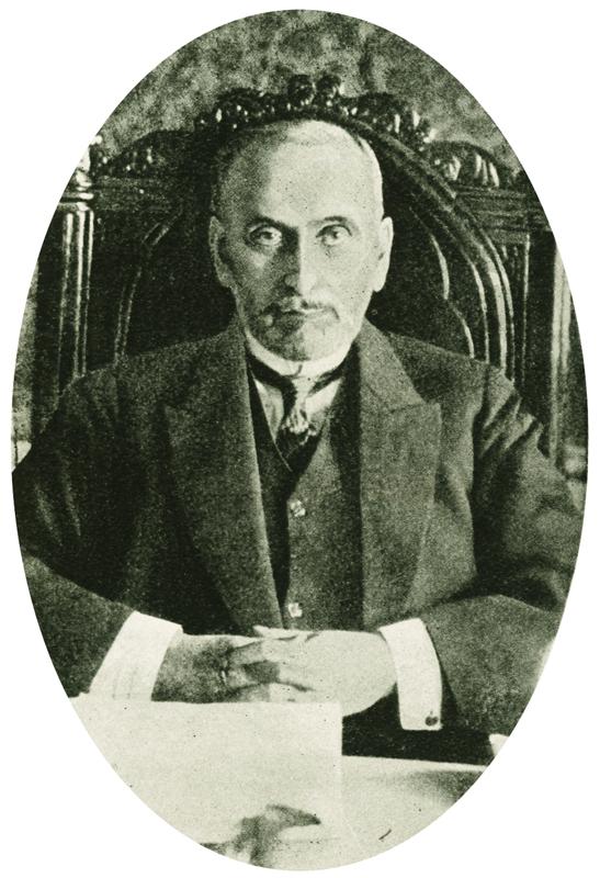 Sergej Dmitrijevič Sazonov (1860–1927), ruský ministr zahraničí Foto sbírka VHÚ.