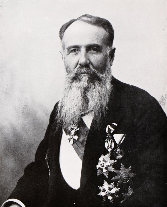 Nikola Pašić (1845–1926), srbský ministerský předseda. Foto sbírka VHÚ.