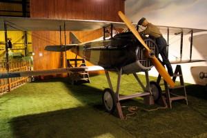 SPAD S-VII C.1 - stíhací letoun, Francie / 1916