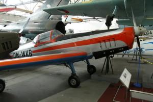 Zlín Z-326 AS Akrobat Speciál - akrobatický letoun, ČSR / 1960