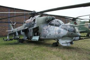 Mil Mi-24 D  - bitevní vrtulník, SSSR / 1971
