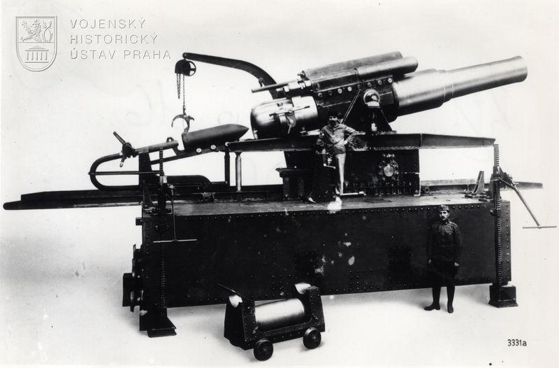 38 cm houfnice vz. 16 (38 cm Belagerungshaubitze M 16)