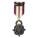 Vyznamenání Zlaté lípy ministra obrany České republiky (rub)