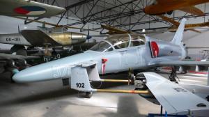 L-159 Alca v expozici Leteckého muzea Kbely