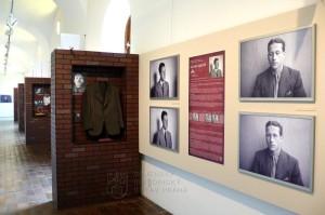 Expozice Tváře odvážných umístěná v Tereziánském křídle Starého královského paláce na Pražském hradě.