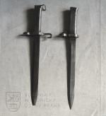 Rakousko-uherské náhradní bodáky na pušku Mannlicher vzor 1895, úprava pro mužstvo a poddůstojníky