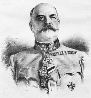 Generál pěchoty Paul Kestřanek, vojenský velitel v Praze. Foto sbírka VHÚ.