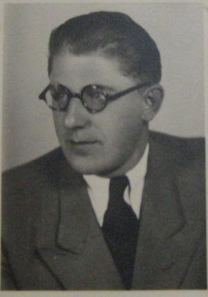 Josef Robotka v letech války. Foto sbírka VHÚ.