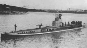 Ponorka Curie již pod rakouskou vlajkou jako S.M.S. U-XIV