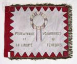 """Praporek roty """"Nazdar"""", 1915"""