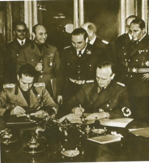Podpis Vídeňské arbitráže