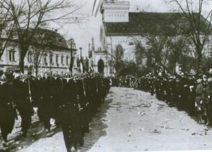 Obsazování jižního Slovenska maďarskou armádou, Lučenec