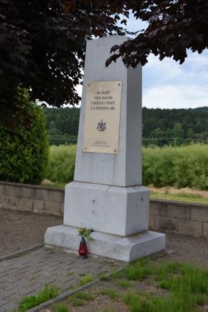 Památník bitvy vybudovaný roku 2005 k 200. výročí bitvy u Štoků.