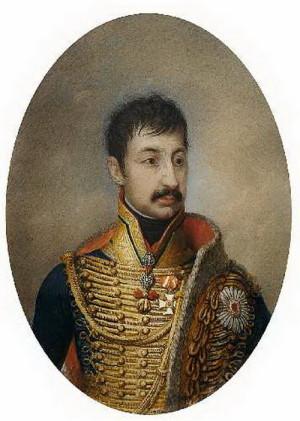 Arcivévoda Ferdinand d'Este, velitel rakouských sil v bitvě u Štoků.