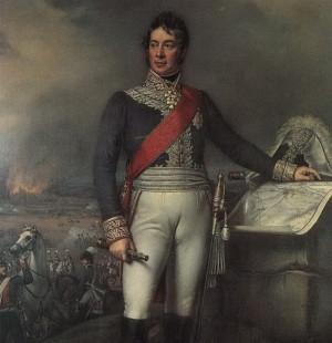 Carl Philipp von Wrede, velitel bavorských sil v bitvě u Štoků, zde již jako polní maršál.