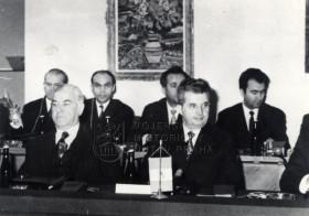 Rumunský komunistický vůdce Nicolae Ceauşescu