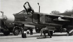 MiG-23. Foto sbírka VHÚ.