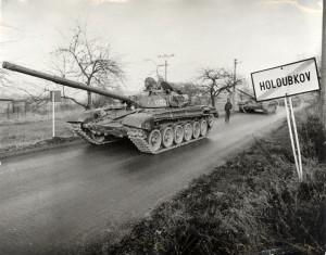 T-72. Foto sbírka VHÚ.