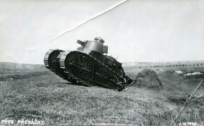 Tanky Renault FT francouzského původu ve službách čs. armády
