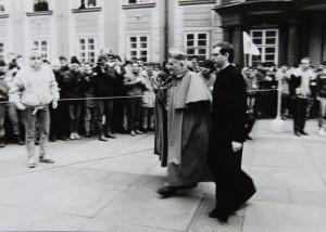 Kardinál Tomášek. Foto Andrej Halada.