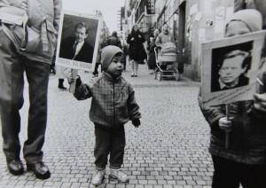 Dny před prezidentskou volbou. Foto Andrej Halada.