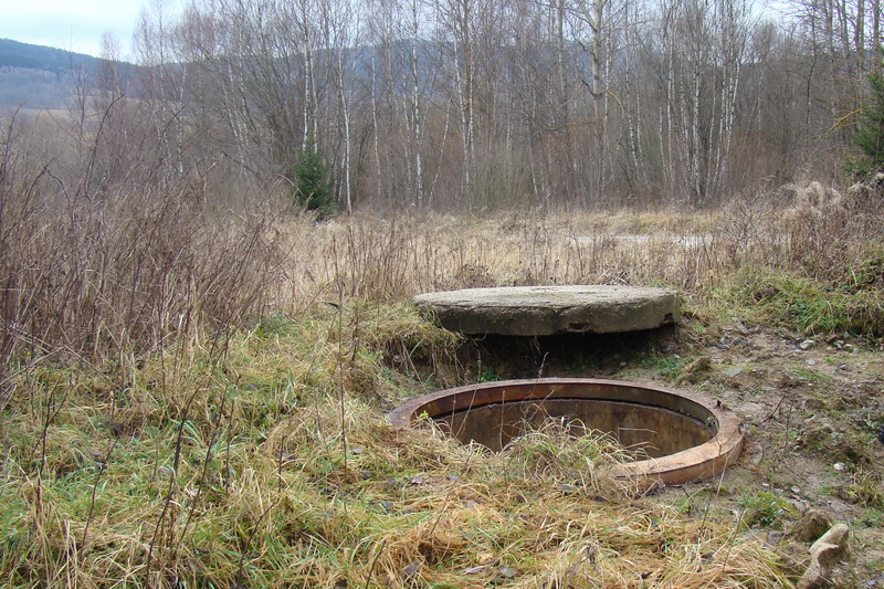 Základ objektu KŽ-3, na kruh se nasazovala věž tanku T-34
