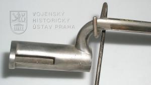 Rakouský tulejový bodák vzor 1838 na pušku Augustin vzor 1838