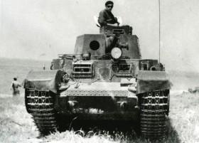 Střední tank T-21 z plzeňské Škodovky