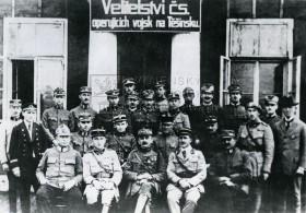 Velitelství československých sil na Těšínsku