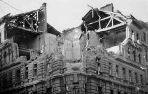 Vinohrady 14. února 1945. Foto sbírka VHÚ.