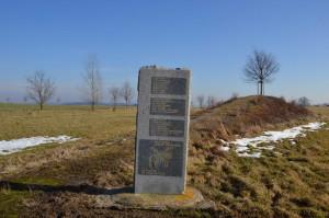 Památník bitvy u Jankova postavený roku 1995 při příležitosti 350. výročí
